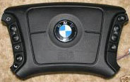[BMW steering wheel airbag cover]